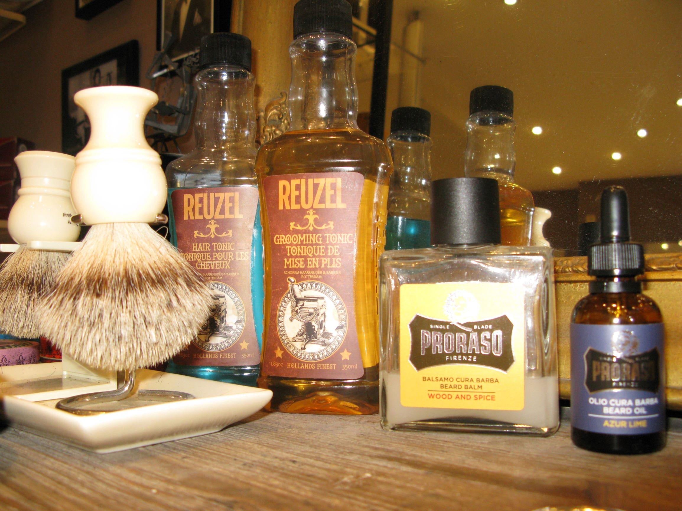 quel produits utiliser pour la barbe